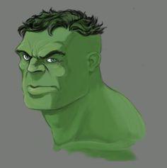 #Hulk#Animated #Fan#Art. (The HULK. FINAL) By: John Redmon. ÅWESOMENESS!!!™ ÅÅÅ+