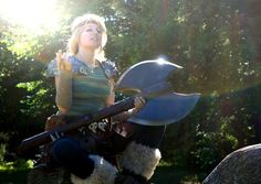 Astrid Cosplay Dreamworks Dragons - How To Train Your Dragon