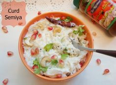 This creamy Curd Semiya is a perfect dish for parties and special occasions; an interesting twist to traditional curd rice recipe!