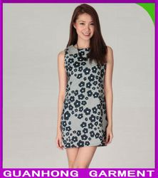 Digital Daisies Print Dress Women dress Factory China Wholesale-- Itmes from Dongguan Humen Guanhong Garment Factory-- Mr Chauvin Cao. Email chauvin.guanhong@hotmail.com Cell Phone +86 158 1479 2457 (WhatsApp/ Viber are avaliable)
