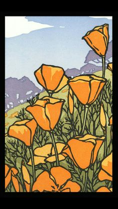 Landscape (Letterpress Notecards) - The Arts & Crafts Press Arts And Crafts For Adults, Easy Arts And Crafts, Arts And Crafts Projects, Arts And Crafts Movement, Art And Craft Videos, Art And Craft Design, Old Art, Simple Art, Letterpress