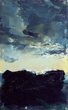 Våg IX - Wave IX by August Strindberg: