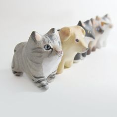 Custom pet pocket totem figurine by HandyMaiden on Etsy