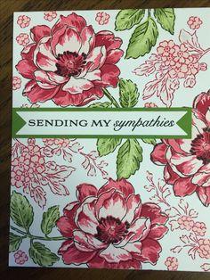 Altenew  - sympathy card