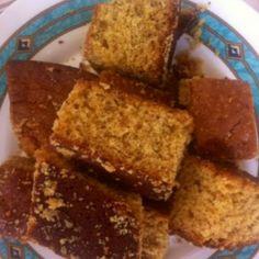 Lenten cake with orange and walnuts! - Νηστίσιμο κέικ με πορτοκάλι και καρύδια.