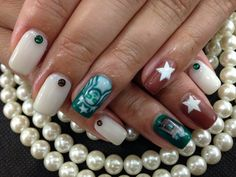Starbucks coffee nail 5040 yen