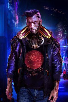 """Urban Shinobi"" Based on Cyberpunk 2077 Cyberpunk 2020, Cyberpunk Movies, Cyberpunk Fashion, Character Concept, Character Art, Cyberpunk Character, Sci Fi Characters, Shadowrun, Sci Fi Fantasy"