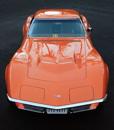 71 Corvette, I had a 76 this color, not a great car but I had fun with it for a little while.