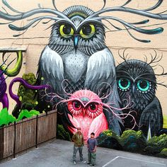 Part of a new collaboration by Jeff Soto and Maxx242 in Downtown Riverside #streetart