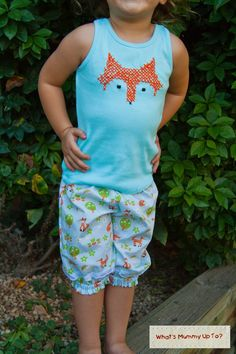 Free Tutorial: Foxy-Loxy Lacey Pants ~ What's Mummy Up To