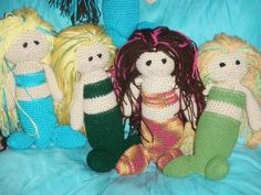 Design Your Own MERMAID crocheted doll by OlsenTrademarkCrafts, $28.00