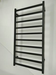 stainless steel 304 electric heated towel rail rack black matte 110v new in usa - Heated Towel Rack