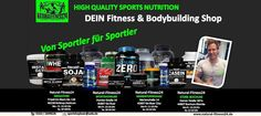 Fitness & Bodybuilding Shop für Sportnahrung, Supplements & Zubehör