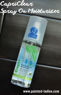 CapriClear Spray On Moisturizer