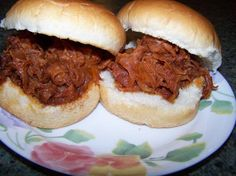 Chipped Ham BBQ Most likely a linemens night dinner idea. (can ya tell I have a football player?)