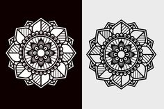 Affinity Designer, Vector Free, Mandala, Prints, Cards, Maps, Mandalas, Playing Cards, Coloring Pages Mandala