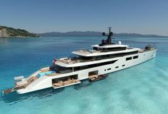 Oceanco unveils new design: 102m Project Spectrum