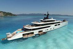 Oceanco unveils new design: 102m Project Spectrum