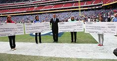 Four HISD schools have scored big with the Houston Texans, winning NFL Play 60 grants from the team to supply campuses with playground or gy...