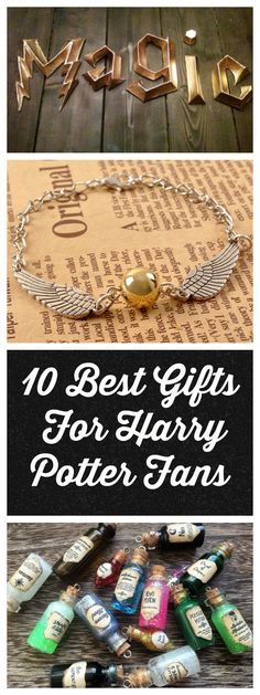 The ultimate gift guide for any true Harry Potter fan.