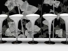 Wallpower - 00700 Wall Finishes, Cool Stuff, Darkness, Interior, Floral, Design, Design Interiors, Florals, Interiors