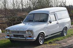 Escort Mk1, Ford Escort, Red Vans, Ford Classic Cars, Vintage Vans, Custom Vans, Car Ford, Commercial Vehicle, Big Trucks