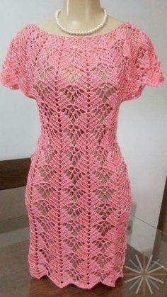 Crochet brown dress for girl Black Crochet Dress, Crochet Blouse, Crochet Lace, Crochet Woman, Online Dress Shopping, Filet Crochet, Beautiful Crochet, Crochet Clothes, Dress Patterns