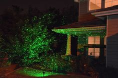 Laser Lighting Displays Bring Landscape to Life this Holiday Season! (On sale now!)