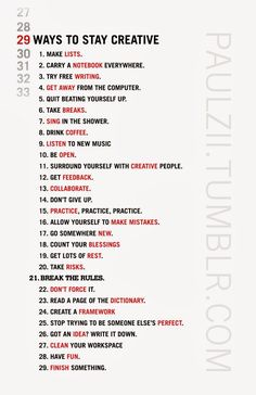 Quotes for Motivation and Inspiration QUOTATION – Image : As the quote says – Description 29 Ways To Stay Creative. But it's so hard for me to break the rules and to clean my table =(: - The Words, The Computer, Writing Tips, Music Writing, Improve Writing, Writing Poetry, Fiction Writing, Journal Writing Prompts, Writing Notebook