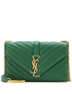 Saint Laurent - Classic Monogram leather shoulder bag - The ...