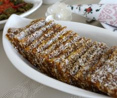 Brunch (Güldoğan Hanım) recipe – Sweet World Ideas Turkish Snacks, Turkish Recipes, Brunch Recipes, Baby Food Recipes, Cake Recipes, Homemade Baby Foods, Confectionery, Granola, Banana Bread