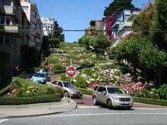Calle Lombard, San Francisco, EEUU.