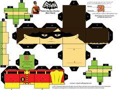 Cubee BATMAN 60'S TV Robin by njr75003.deviantart.com on @deviantART