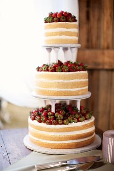 Strawberry Shortcake wedding cake would be amazing! But maybe each tier can be a different cake? Strawberry shortcake , red Velvet, carrot cake