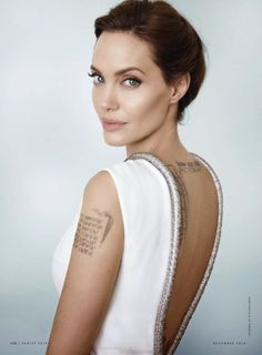 DAME ANGELINA JOLIE AND WOMAN OF THE YEAR PHOTOGRAPHED BY MARIO TESTINO FOR VANITY FAIR DECEMBER 2014 EDITION