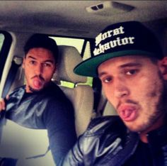 Mario Falcone & Charlie Sims.... Mario Falcone, The Only Way, Sims, Captain Hat, Social Media, Celebrities, Instagram, Celebs, Mantle