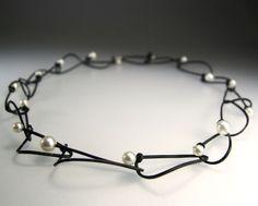 Shuttle Chain with Pearls - ECNP Galeri (Ela Cindoruk & Nazan Pak)