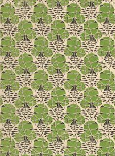 Pattern design by Henri Gillet, Nouvelles fantasies décoratives Textiles, Textile Patterns, Textile Design, Fabric Design, Print Patterns, Art Nouveau Pattern, Indigo Prints, Retro Pattern, Pattern Illustration