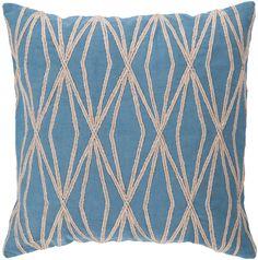 Surya Daring Diamond Pillow   AllModern