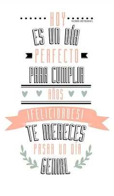 Feliz cumpleaños - Craft Tutorial and Ideas Happy Birthday Images, Birthday Messages, Happy Birthday Wishes, Birthday Quotes, Mr Wonderful, Happy B Day, Time To Celebrate, Love Messages, Tutorial
