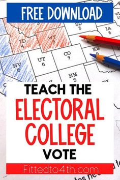 2020 election lesson 3rd Grade Social Studies, Social Studies Classroom, Classroom Resources, Teaching Resources, Us Election, Teaching Election, Presidential Election, Electorial College, Electoral College Map