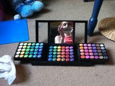 Elle's 180 colour eyeshadow pallet!
