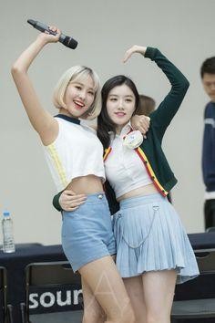 Pristin Yuha & Xiyeon