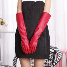 Find More Gloves & Mittens Information about Long Design PU Gloves Formal Dress Women Barreled Women's Lengthen Glove Party Office,High Quality dress belly,China gloves carbon Suppliers, Cheap dress funny from Bys Store Store on Aliexpress.com