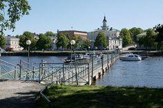 Pori Taavisilta-kirjurinluoto Western Coast, Scandinavian Countries, Helsinki, Scenery, Art Deco, Europe, River, Mansions, City
