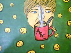 Pintura con acrílico. Valentina C.