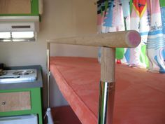 Bunk Bed Rail for Scamp