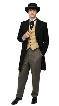 Gentlemans Emporium -- Mens Victorian Clothing -- Outfit 001 - Early Victorian