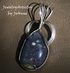 Opal Pendant  Handmade Wrapped in Sterling by by JewelryArtistry, $84.98