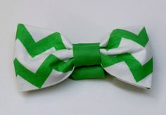 Dog Bow Tie or Cat Bow Tie / Necktie in Green by AllAboutMadison, $4.00